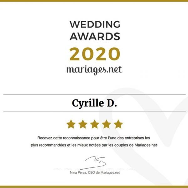 Cyrille D notre wedding planner events designer